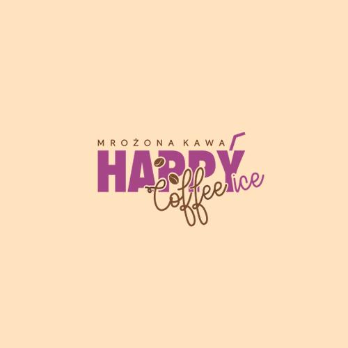 Logo HAPPYice Coffee kawa mrożona Firma Siorbet