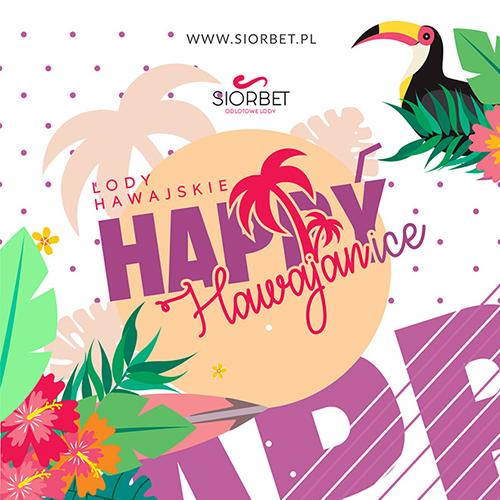 Lody hawajskie HAPPYice Firma Siorbet