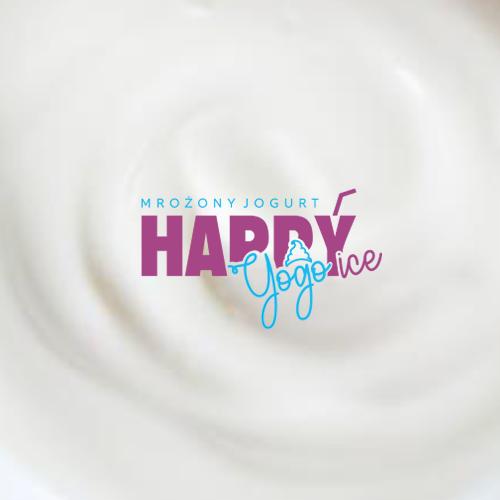 Logo HAPPYice Yogo Jogurt mrożone Firma Siorbet