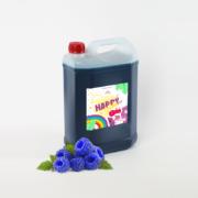 syrop do granity slushy slush koncentrat do granitora o smaku malinowym niebieskim HAPPYice siorbet